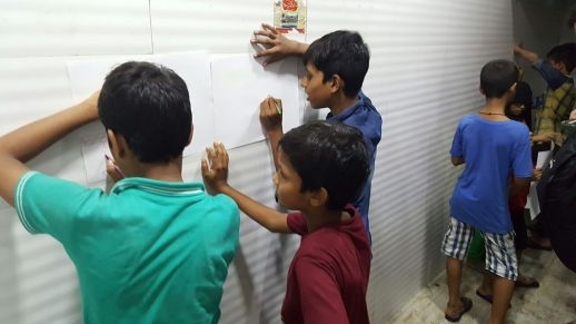 Bareilly Compound kids workshop