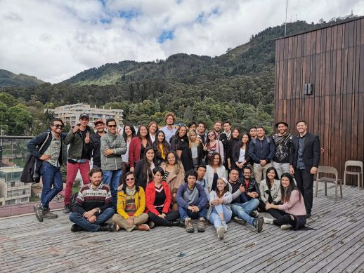 "Attendees of the ""Urban Actions and Emergent Architecture:Community Architecture 2019"""