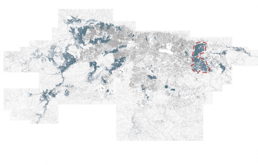 Cartography of the Caracas slums