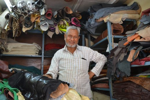 Dharavi proud shop owner