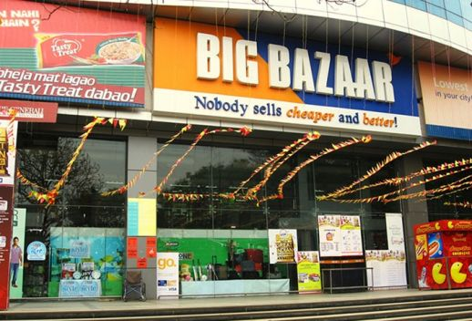 A supermarket in Mumbai (image from web)