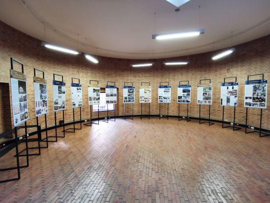 Exhibition of Community Architecture Projects in the Colombian Society of Architects