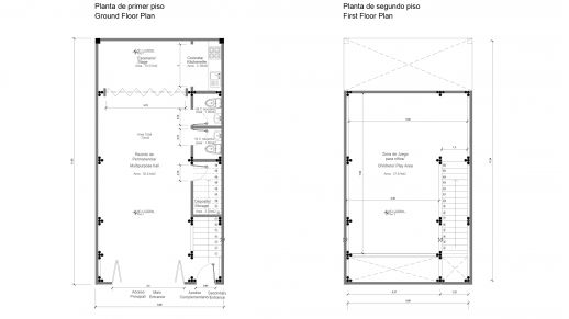 Floor Plans of the Community Center