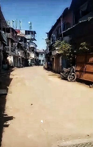 Deserted Streets of Dharavi