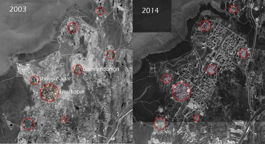 Image 2: Transformation of Ulwe as seen from satellite images