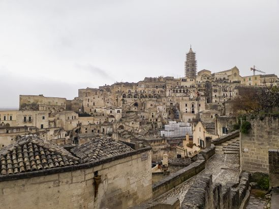 Matera, in the Basilicata region of Italy. Photo by Giona Mottura.